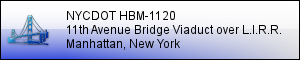 NYCDOT HBM-1120:  Rehabilitation of 11th Avenue Bridge Viaduct - MANHATTAN, NY