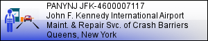 PANYNJ JFK-4600007117: Maintenance and Repair Service Contract at JFK International Airport - JAMAICA, NY